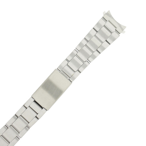 Stainless Steel Metal Watch Band in Oyster Style Link MET148