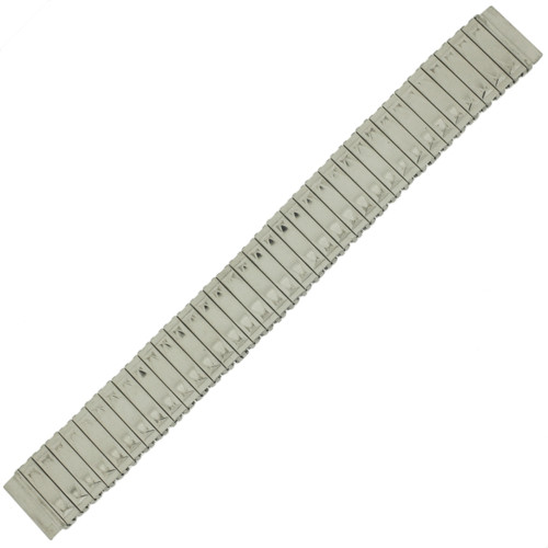 Watch Band Expansion Metal Stretch Silver Color 17mm-20mm MET162