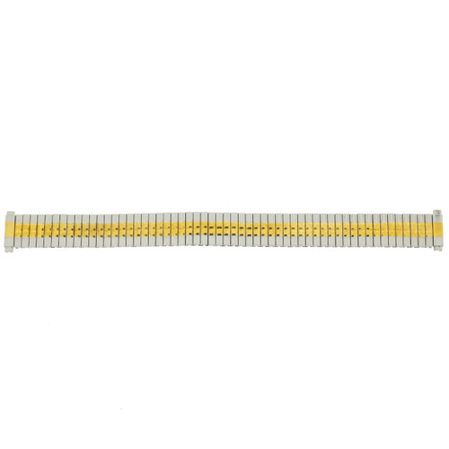 Expansion Metal Watch Band in Stretch Two-Tone Ladies - Main