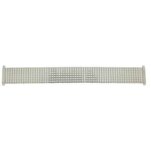Watch Band Expansion Metal Stretch Silver-Tone Thin Line - Main