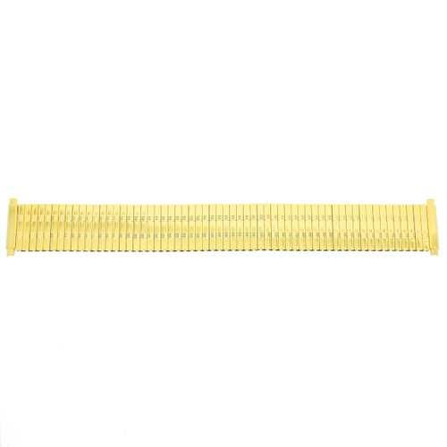 Watch Band Expansion Metal Stretch Gold-Tone fits 17-21mm - Main