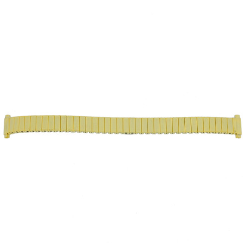 Watch Band Ladies Expansion Metal Stretch Gold-tone 11-14 mm - Main