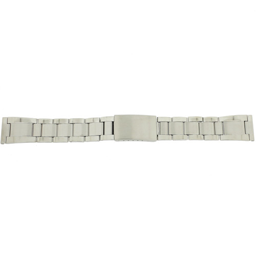 Stainless Steel Watch Band in Oyster Style Metal Link - Main