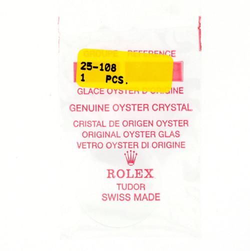 Original Rolex Crystal 25-108 | Oyster Tudor Crystal | Watch Material | Genuine Parts |