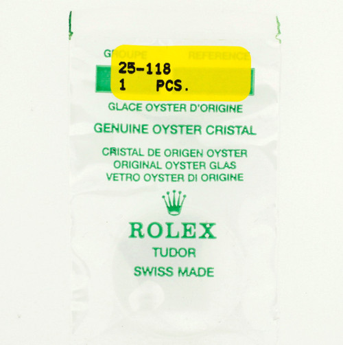Original Rolex Crystal 25-118