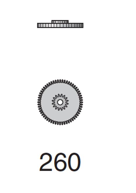 Minute Wheel Valjoux 7750