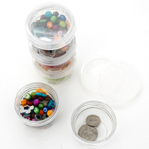 Bead Small Storage Container | Paylak CNTB120 | Open