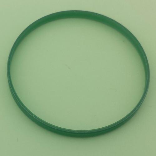 Green Crystal gasket fits ROLEX MILGAUSS Watch 116400 , 116400GV