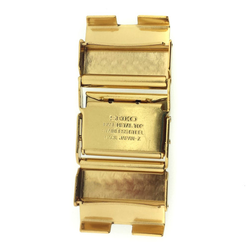 Seiko gold plated clasp