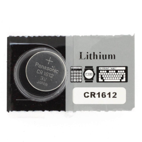 Panasonic CR1612 Battery