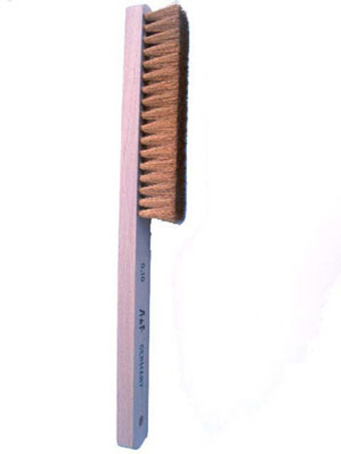 Wood Handle Brass WIRE Brush -BRS968 - Main