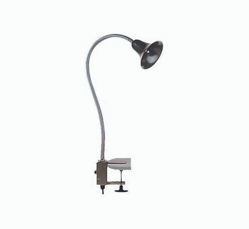 BQ-03 BBQ Bell Light with flex arm in black with clip mount