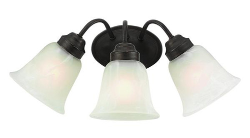 3 Light  Bath Sconce - 3106