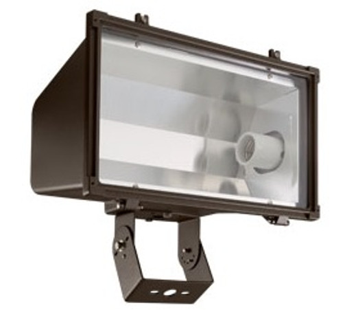 CFL-301 Large Floodlight in bronze finish