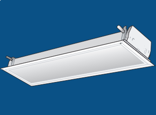 Commercial Recessed Fluorescent Lay In Ceiling Light (128 Series) by ...