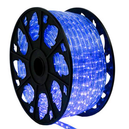 150 ft blue led rope light kit 120v ledropekits blue by aql aqlighting 150 ft blue led rope light kit mozeypictures Images