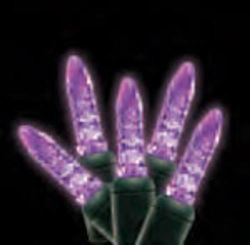 Mini Commercial Grade LED Light String shown in purple