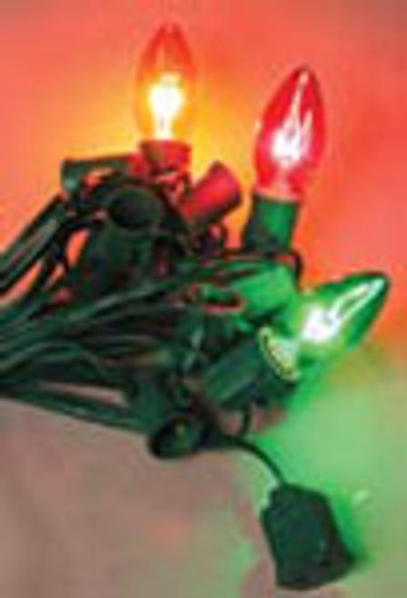C7 Light Stringer (shown with incandescent light bulbs)