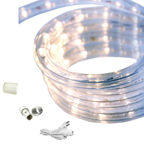 18 ft led rope light cool white 120 volt ez led 120 cw 18 by aql aqlighting 18 ft cool white led rope light aloadofball Gallery