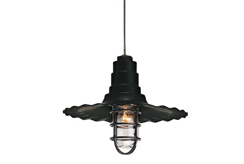 "16"" Warehouse Pendant Light - Hanging Pendant Light -  Commercial Grade Pendant Lighting - TROY-PRW -TROYRLM"