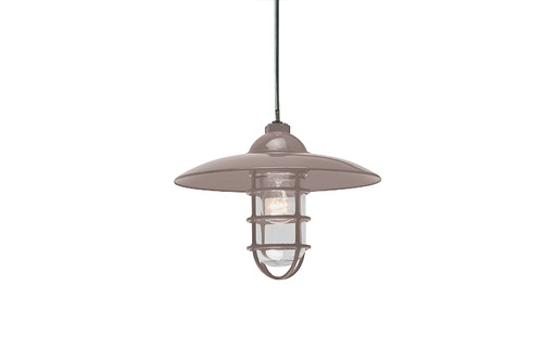 Aluminum Retro Dome RLM Hanging Pendant Light - Indoor or Outdoor Warehouse Pendant Light - TROY-PRID13 - TROYRLM