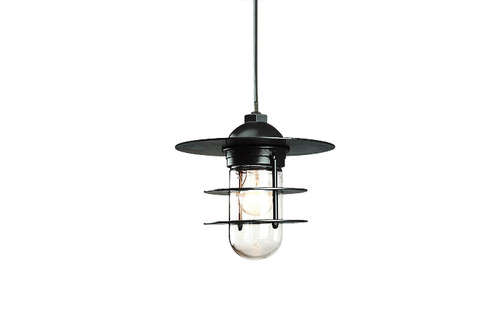 Aluminum Retro Ring RLM Pendant Light - Indoor or Outdoor Warehouse Pendant Light - TROY-PRRS10 -TROYRLM