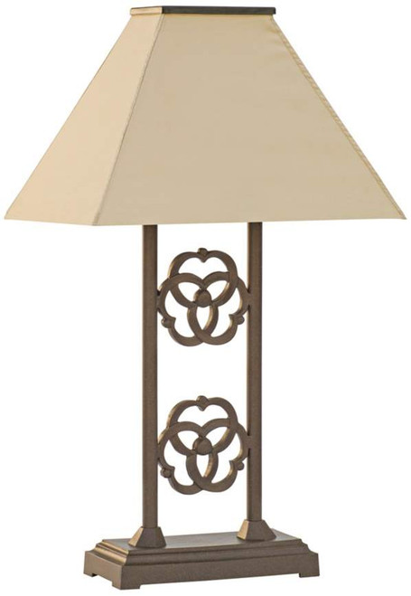 Beautiful LED Outdoor Solar Table Lamp   Terra Furniture Renaissance