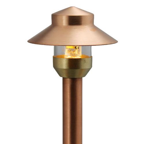 LED Raw Copper Mini China Hat Area Light LED-PAMI-AQ112-RC