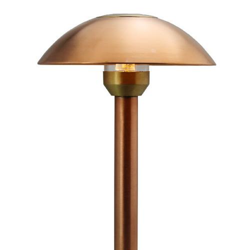 LED Raw Copper Dome Path Light - Area Light LED-PASH-AQ115-RC