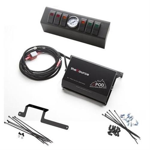 SPOD 6 Switch Control Switch System w/ Air Gauge - Fits 2012-2015 JK Wranger