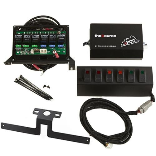 SPOD 6 LED Double Light Switch Control Switch System - Fits 2007-2008 JK Wrangler
