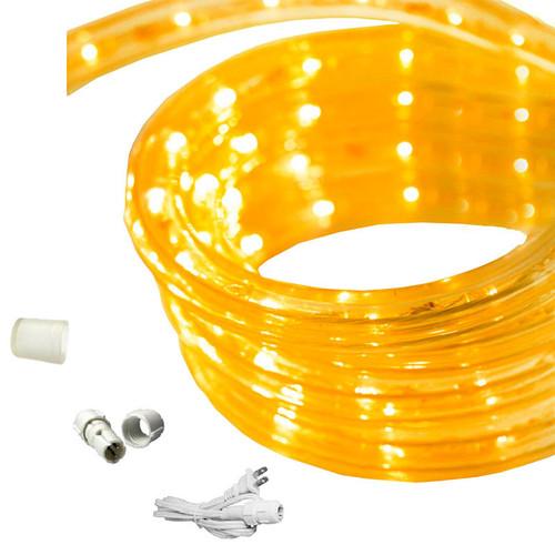 18 ft led rope light yellow 120 volt ez led 120 yel 18 by aql aqlighting 18 ft led rope light aloadofball Gallery