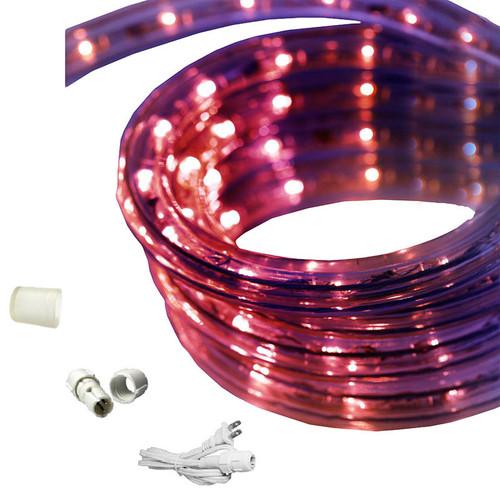 Home Theater Rope Lighting: Purple 120 Volt (EZ-LED-120-PPL-65