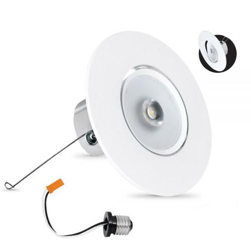 """Electric Motor Retrofit Kit: 120V 5"""" / 6"""" LED Adjustable Retrofit Downlight Kit"""