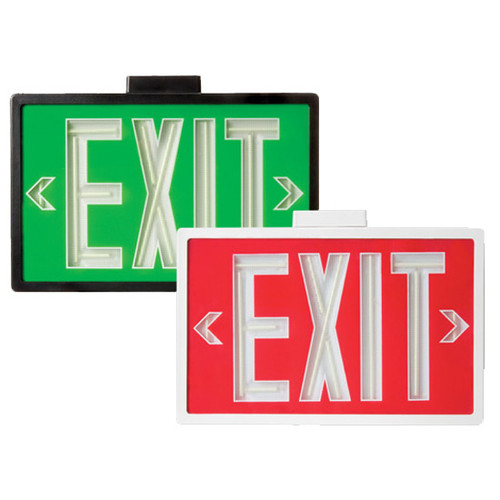 exit sign coloring page - self luminous tritium emergency exit sign by aql