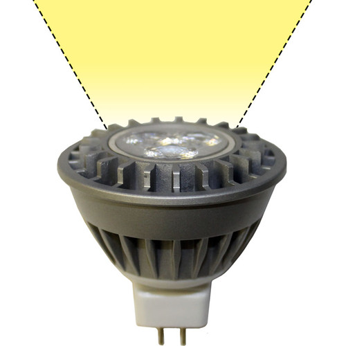 Mr16 Led Schematic: 120V 3.6w LED Warm White MR16 Light Bulb