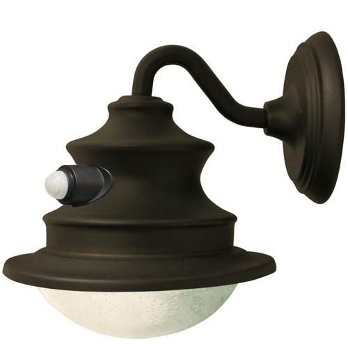 Barn Light With Pir Sensor: Aluminum Solar LED Barn Light W/ Motion Sensor (GS-122PIR