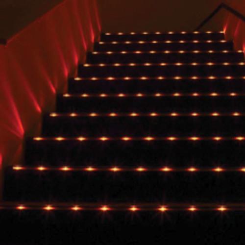 Home Theater Rope Lighting: 12V Beam Splitter LED Low Profile Extrusion Step Light