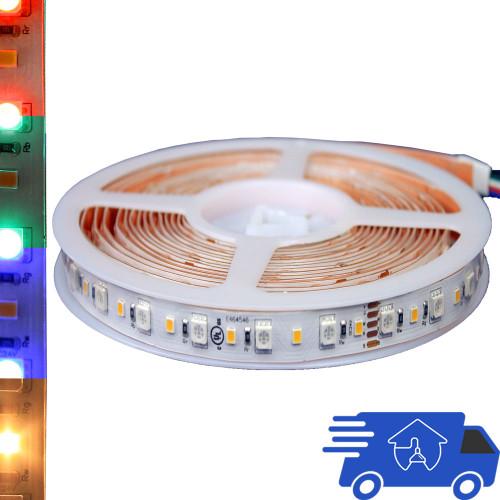 120V RGB Color Changing LED Flexible Strip Light Spool ...