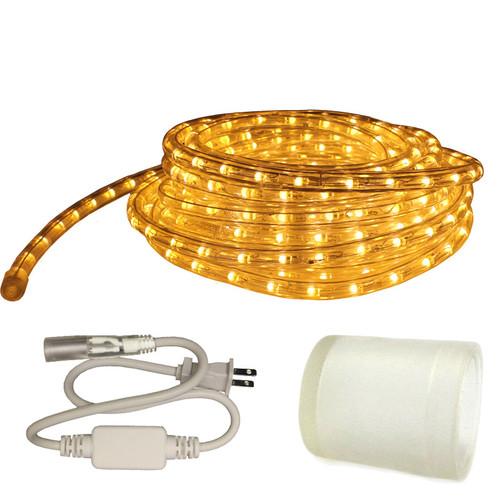120v custom cut warm white led type 513 rope light 513pro series aqlighting aloadofball Choice Image