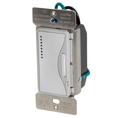 smart dimmer remote asp 9542 by cooper wiring devices rh affordablequalitylighting com Cooper Wiring Devices Dimmer Cooper Dimmers Da