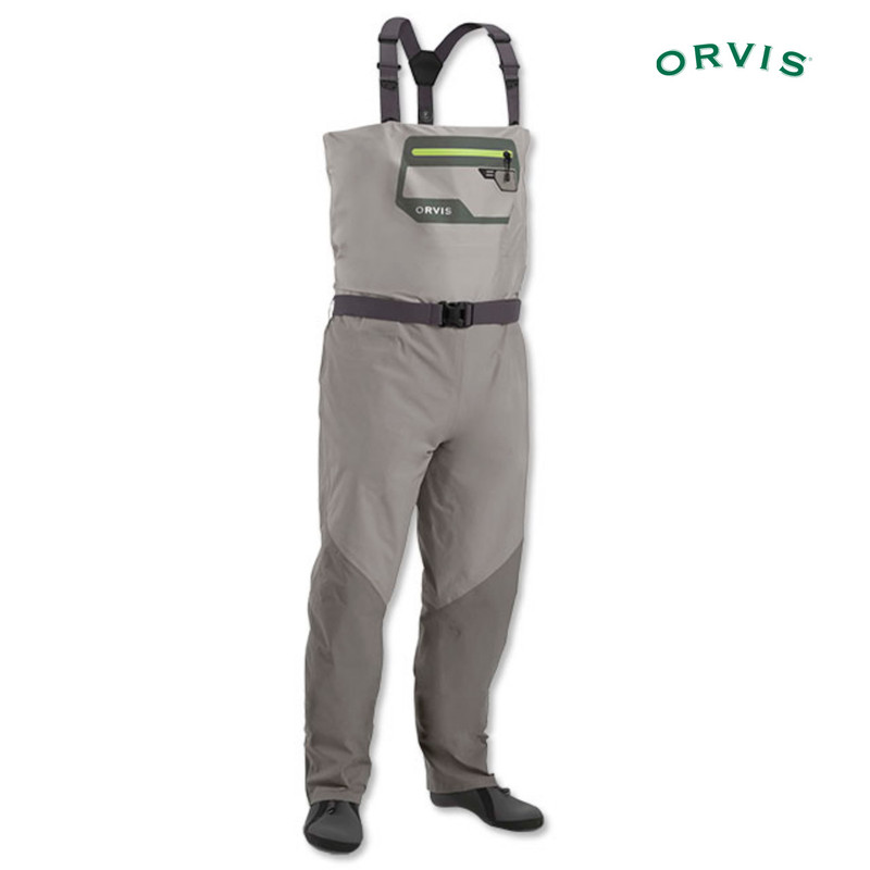 Orvis Men's Ultralight Convertible Wader Shown in Chest High Position