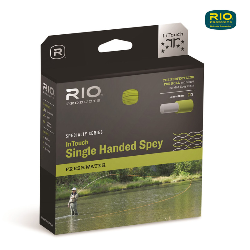 Rio InTouch Single Handed Spey Fly Line in the Box