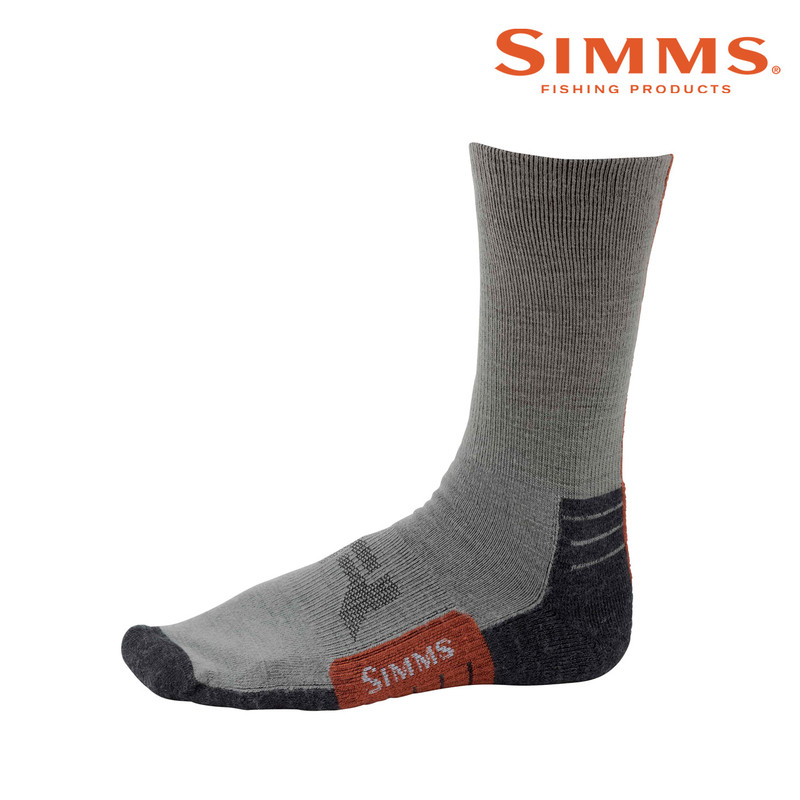 Simms Guide Lightweight Crew Sock Side View
