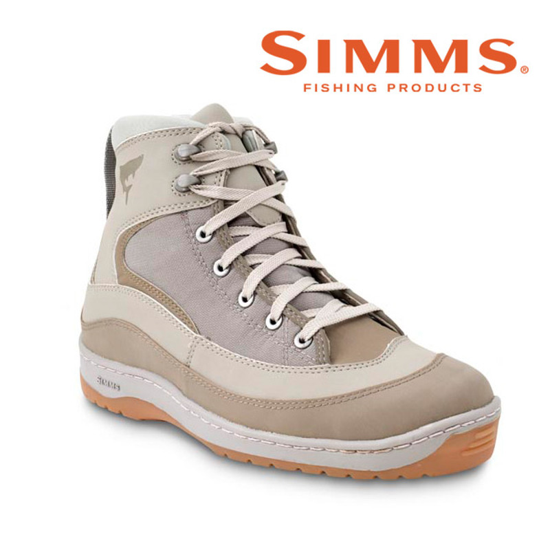 Simms Flats Sneaker Front and Side View