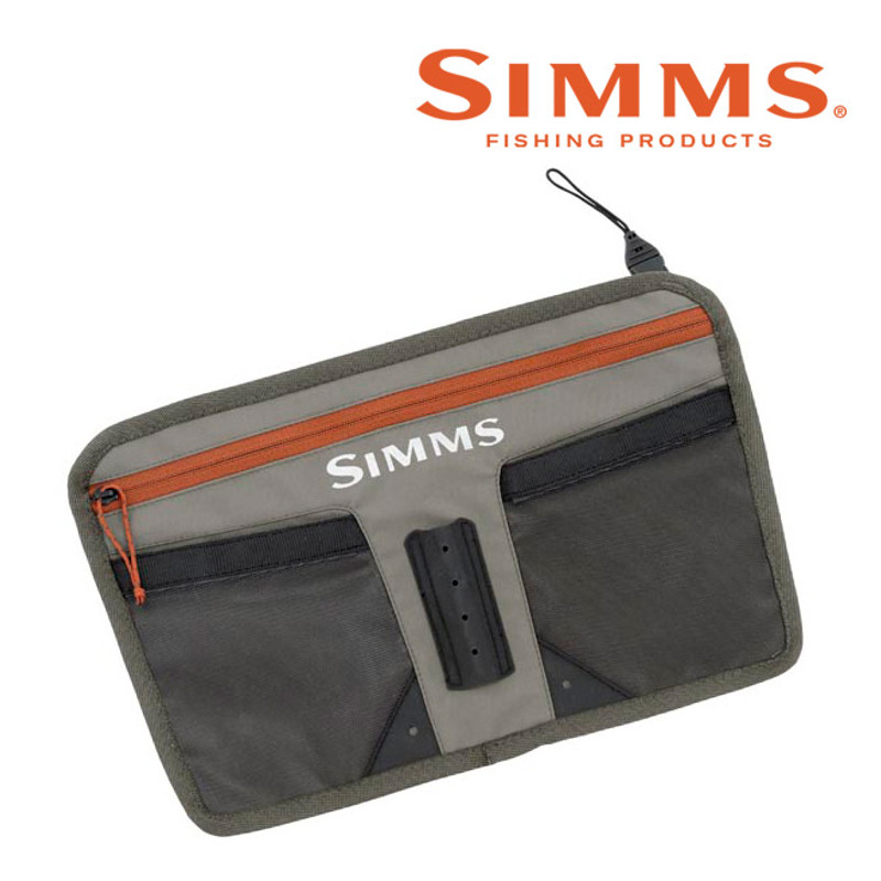 Simms Tippet Tender Pocket Front View