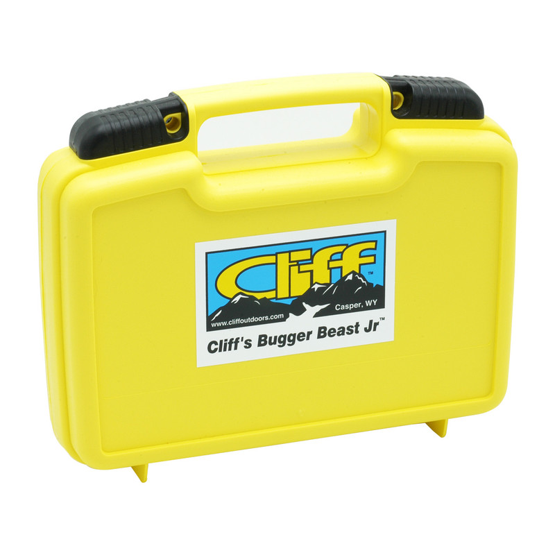 Cliff Bugger Beast Jr. Fly Box Shown Closed