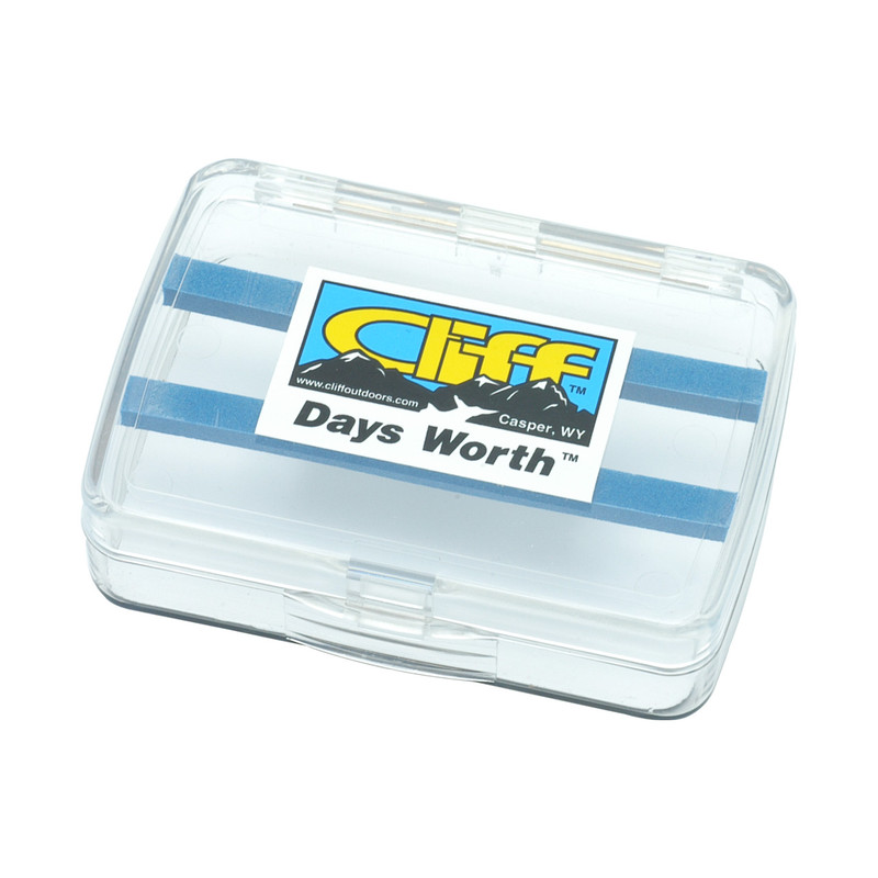 Cliff The Days Worth Fly Box Shown Closed