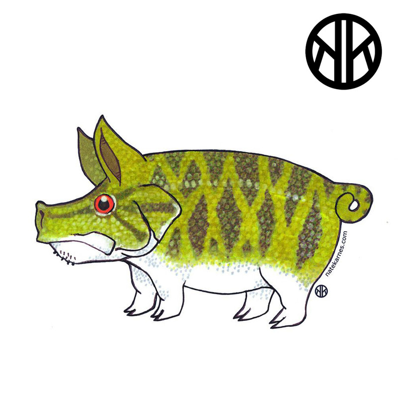 Nate Karnes Pig Smallmouth