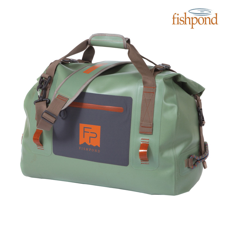 Fishpond Thunderhead Roll Top Duffel Front View
